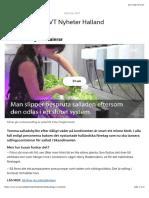 Salladsodling i containrar | SVT Nyheter