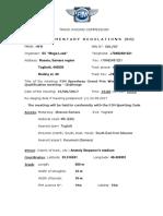 Supplementary Regulations SR SGP- Challenge