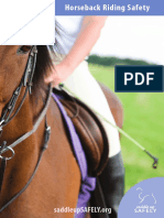 Horseback Riding Safety Brochure