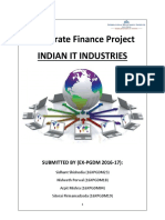 Corporate Finance Report Analysis