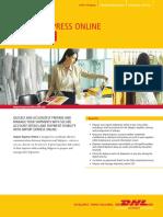 Dhl Import Express Online User Guide En