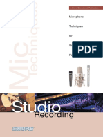 Mics for Music Studio