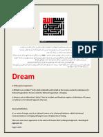 Dreams and Ali Mirza