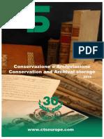 Catalogo Conservazione e Archiviazione CTS 2014