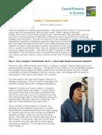 Galileo Thermometer Task