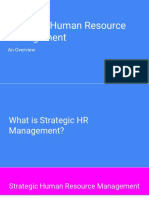 SHRM Overview