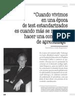 Revista Docencia Hargreaves Identidad Profesironal