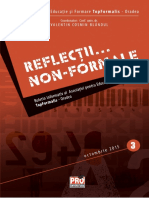 Reflectii Non-Formale Nr.3 - 2015