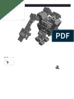 LEGO Stompy Stomper Frame