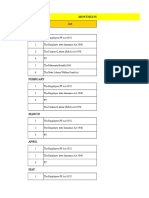 Statutory Check List