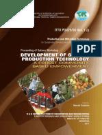 Proceeding of Gaharu Development of Gaharu