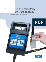 SKF Belt Frequency Meter Manual