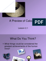 Lesson2.1A Preview of Calculus
