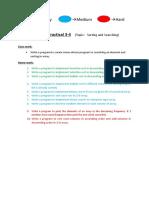 Practical 3-4 (CSE215)