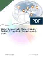 Global Biomass Boiler Market (2016-2024)- Research Nester