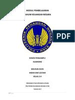 Resume Hukum Keuangan Negara