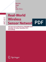 Real-World Wireless Sensor Networks 2011