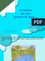 A História Da Gotinha de Água