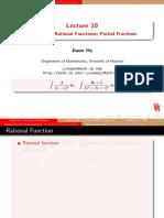 Fraction Integration
