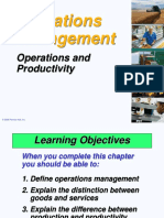 Chapter 1 Operations and Productivity 2