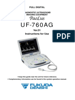 Instructions for Use English UF-760AG