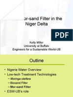 The Mor Sand Filter in the Niger Delta