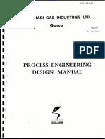 Process Engineering Design Manual