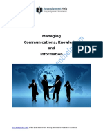 Managing Communications & Information for Business Growth