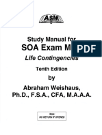 [Abraham Weishaus] Study Manual for Actuarial Exam
