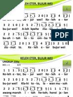 Ungkup 236a - Keleh Eter, Bujur Wei