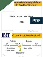 IBET -Suspensão da Exigibilidade - 2017