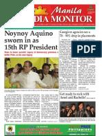 Manila Media Monitor -- JUNE 2010