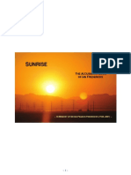 Ian Shanahan - Sunrise Programme Notes FINAL
