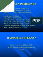 Radiasi Dan Efeknya 1