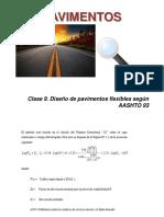 Clase 9. Diseño Flexible AASHTO 93. (1) (1)