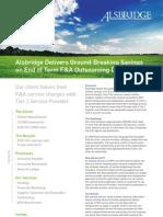 Alsbridge BPO Cost Reduction Case Study