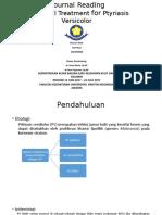 Antifungal Treatmen for Ptyriasis Versicolor