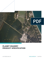 Planet Imagery Product Specs