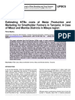 Estimating NTBs costs of Maize Production and Marketing for Smallholder Farmers in Tanzania