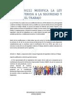 Ley Nº 30222 Modifica La Ley 29783 Referida a La Seguridad y Salud en El Trabajo (2)