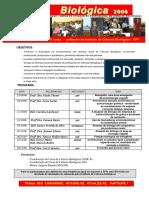Divulgação HORA BIOLÓGICA 2006_ Cartaz