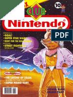 Club Nintendo 10 - Año 02 Nº 06 (Chile) - star fox