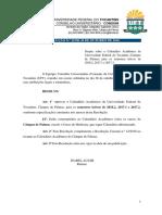 Resolução Consuni Nº 19_2016 - Calendário Acadêmico UFT - Palmas, 2016-2, 2017-1 e 2017-2 - Atualizado Em 08-06-17
