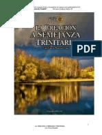 la creacion  semejanza trinitaria