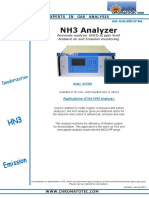 TSP NH3 Analyzer D27000 UK