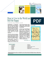 How to Live in the World