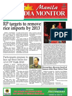 Manila Media Monitor -- JULY 2010