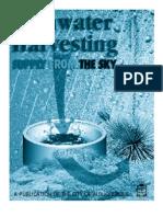 Rainwater HarvestingAlbuquerque, New Mexico Rainwater Harvesting Manual