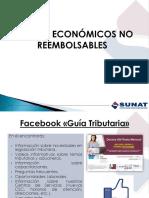 Premios No Reembolsables Sunat