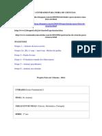 Projeto Feira de Ciencias Fund 1